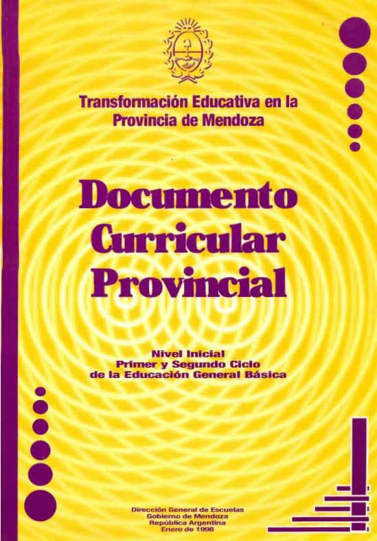 Dise o curricular de educaci n primaria 1998 www for Diseno curricular primaria