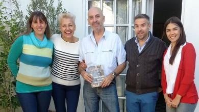 Marcelo García y otros en Jardin Duende Flo