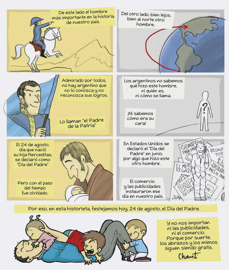 historietas sobre el día del padre www