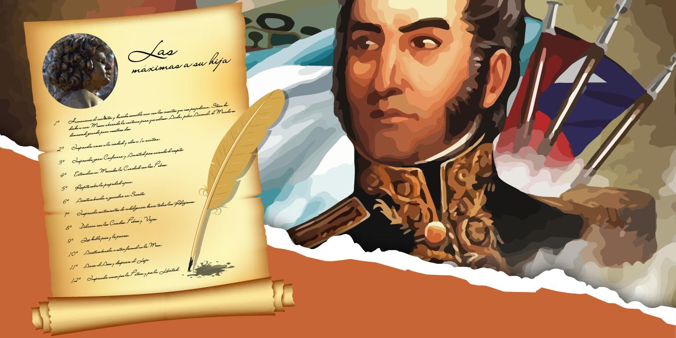 Máximas redactadas por el General San Martín para su hija ...