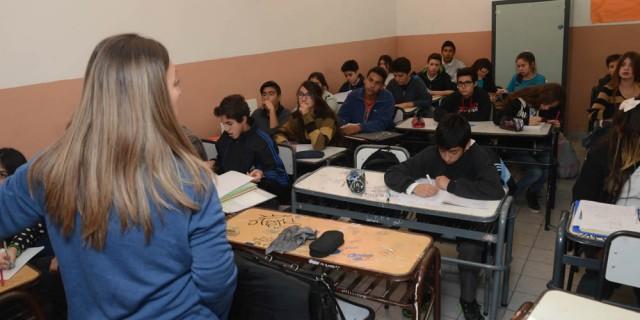 A pesar del paro, los alumnos asistieron a clases