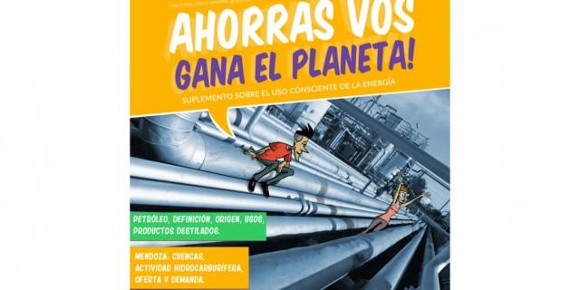 """Ya está disponible el tercer fascículo de """"Ahorrás vos, gana el planeta"""""""