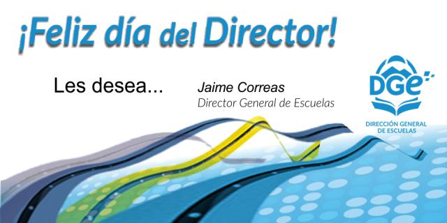 ¡Feliz día del Director!