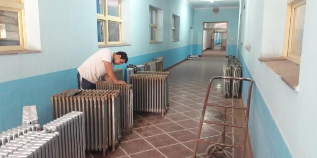 Mejoras en la Escuela Eva Perón: trabajan para terminar en noviembre