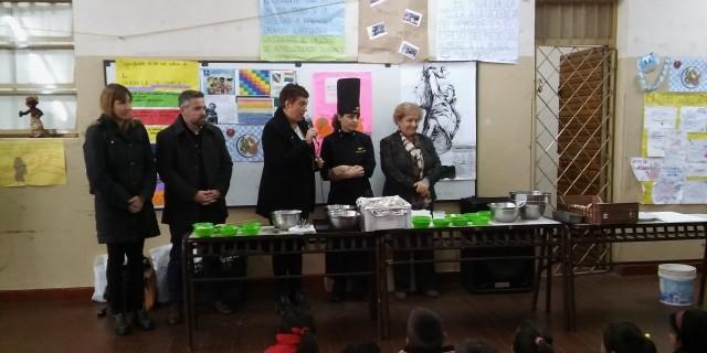 """Alumnos de la escuela """"Padre Pedro Arce"""" participaron de la jornada de """"Alimentación Saludable"""""""