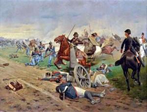 Batalla de Tucumán - Francisco Fortuny (1865-1942)