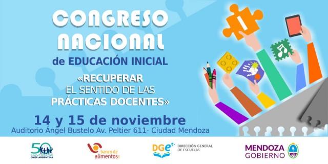 Congreso Nacional de Educación Inicial «Recuperar el sentido de las prácticas docentes»