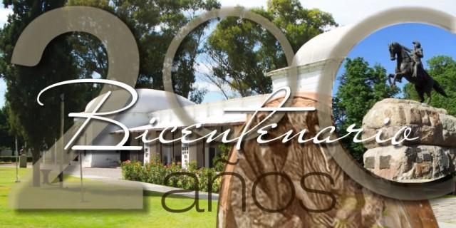 20 de diciembre de 2016. Bicentenario del Departamento de San Martín