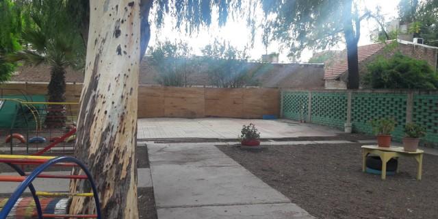 Continúan las reparaciones en la Escuela Guillermo Cano