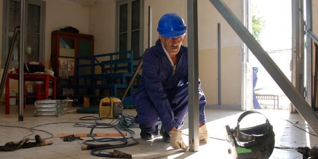 Avanzan los arreglos de escuelas de Capital, Luján de Cuyo y Las Heras