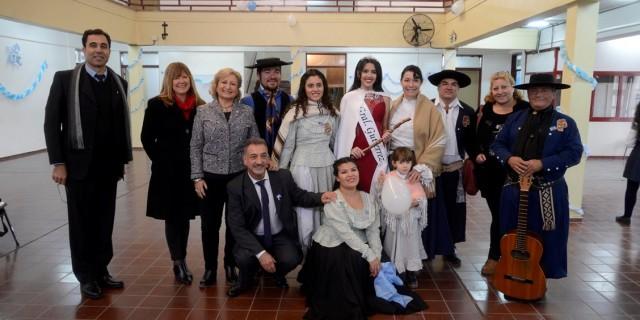 Las escuelas mendocinas celebraron los 207 años de la Revolución de Mayo
