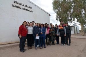 10-05-2017 DGE - Jornadas de articulación para perfeccionamiento de docentes entre la UNCuyo y DGE. Se realizaron en Laguna del Rosario - Lavalle