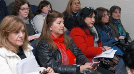 Mendoza, 30-06-17. Se reunió el Jurado del Concurso de Jerarquía Directiva. Estuvo presente la subsecretaria de Educación, Emma Cunietti.