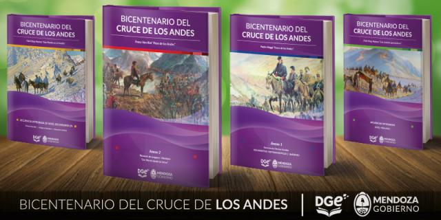 El Gobierno Escolar presenta secuencias didácticas sobre el Cruce de los Andes