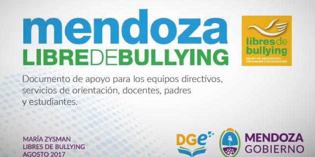 Mendoza Libre de Bullying, material de apoyo