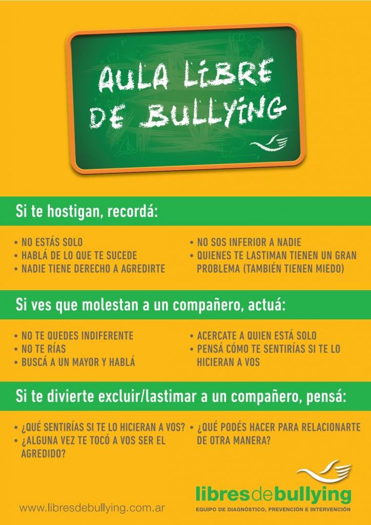 aula libre de bullying