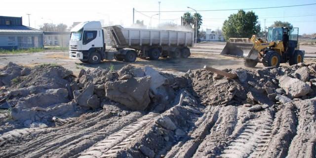 Comenzó la construcción de dos escuelas primarias en San Martín