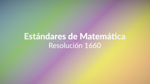 Estándares de Matemática-01
