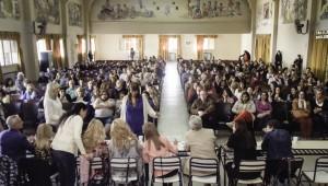 Mendoza 23-10-2017 / Se realizo la entrega de resultados del Concurso de Jerarquía Directiva de Nivel Secundaria, fue en la Escuela Hogar Eva Perón.