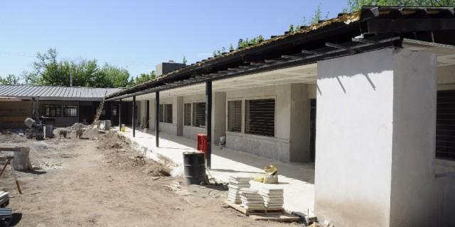La Escuela Laureana Olazábal estará lista para marzo de 2018