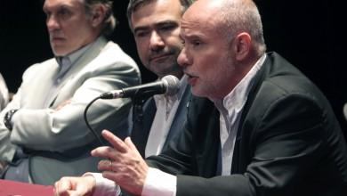 Mendoza, 10-11-17. El director General de Escuelas, Jaime Correas, participó de acto de cierre del 2do. Concurso Provincial de Ideas.