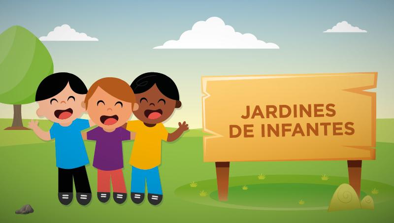 JARDINES INFANTES BOTON PLACA