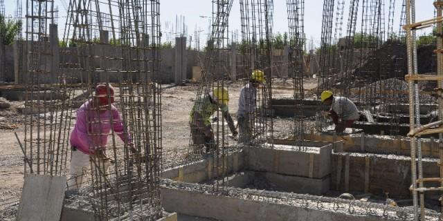 Avanzan sin pausa dos nuevas escuelas primarias en San Martín
