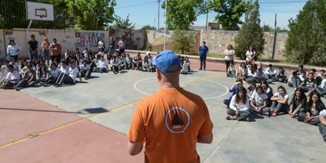 Se realizó eltercer simulacrode sismo en las escuelas de Mendoza