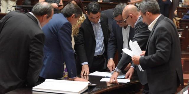 "Es ley el proyecto del ""Ítem Zona"""