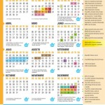 Calendario 2018 de  Inicial