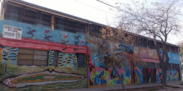 Infraestructura comienza a reparar el techo de la escuela Carlos Pellegrini