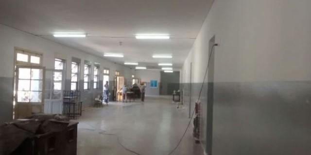 Continúa en plena marcha la reparación integral de la Escuela Correo Argentino