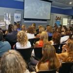 Mendoza, 04-04-18. El subsecretario de Educación, Gustavo Capone asistió a la charla de Norberto Monfort sobre calidad educativa.