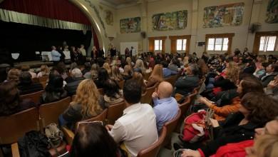 Mendoza 9 de Mayo de 2018, Escuela Eva Perón. Se entregaron los resultaos de la segunda instancia del Concurso de Jerarquia Directiva de Educación Secundaria y sorteo para la tercera instancia.