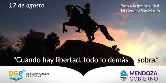 Paso a la inmortalidad del General San Martín