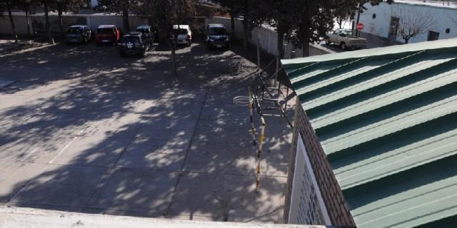 Infraestructura prevé concluir en octubre el nuevo techo de la Escuela Albino Gutiérrez