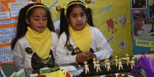 """Alumnos de Santa Rosa visitaron DGE con su proyecto """"Tecnopalabras"""""""
