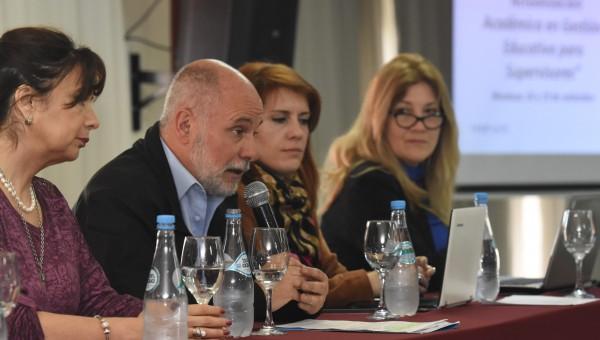 Comenzó el Encuentro Provincial de Actualización Académica en Gestión Educativa para Supervisores
