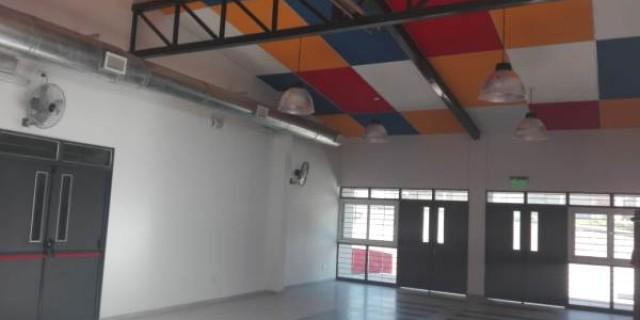 Concluyó la construcción de la nueva escuela en el Campo Pappa