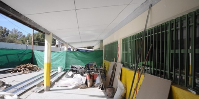 Está a un paso de culminarse la reparación integral del Jardín de Infantes 26 de Setiembre