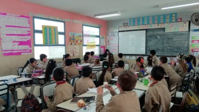 alumnos primaria paro 25 set 2018