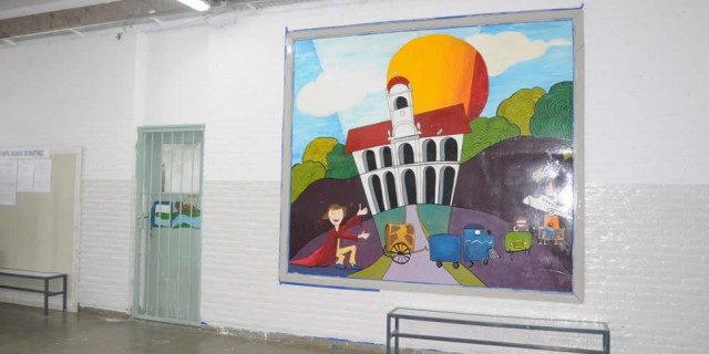 Casi lista la reparación integral de la Escuela Basaure de Martínez