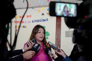 Mendoza 18-10-2018 Celia Chaab subdirectora de planificación y evaluación de la calidad educativa participo del Operativo Nacional de Evaluación Aprender 2018   En la foto Celia Chaab