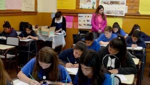 Mendoza 18-10-2018 Celia Chaab subdirectora de planificación y evaluación de la calidad educativa participo del Operativo Nacional de Evaluación Aprender 2018