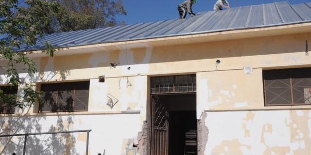 La reparación integral de la Escuela Especial Emilio Coni está muy cerca de finalizarse