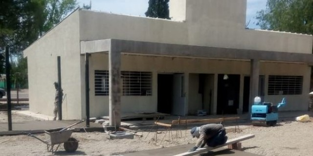 Está al 95% la construcción de la nueva Escuela Francisco Arias