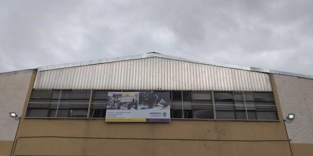 Concluyó el recambio del techo de la Escuela Leonardo Da Vinci de Godoy Cruz
