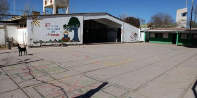 Comenzó la ampliación y refuncionalización de la escuela 1-213 Capitán Candelaria