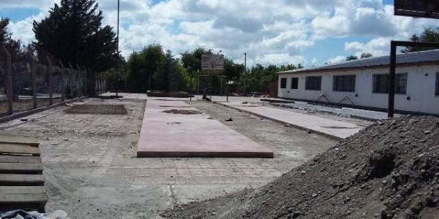 Se realizan obras de envergadura en dos instituciones educativas de Malargüe
