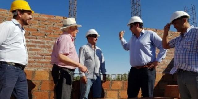 Está al 30% la construcción de la Escuela Daniel Pierini